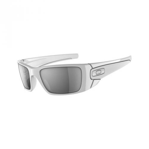 Okulary Oakley Fuel Cell Polished White / Matte White / Black Iridium