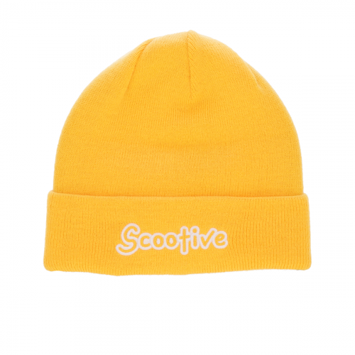 Czapka Scootive Holidays Yellow