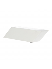 Grand Fingers White Wave Slanted Bench