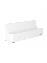 Grand Fingers White Wave Bench