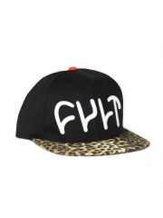 Czapka Cult Trey Snapback Black / Cheetah