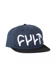 Czapka Cult HAWK Courderoy Snapback Blue