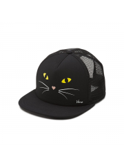 Czapka Vans Lawn Party Trucker Black Cat
