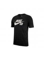 Koszulka Nike SB Logo Black / White