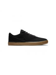 Buty Nike SB Check Solarsoft Canvas Black / Black-Gum Light Brown