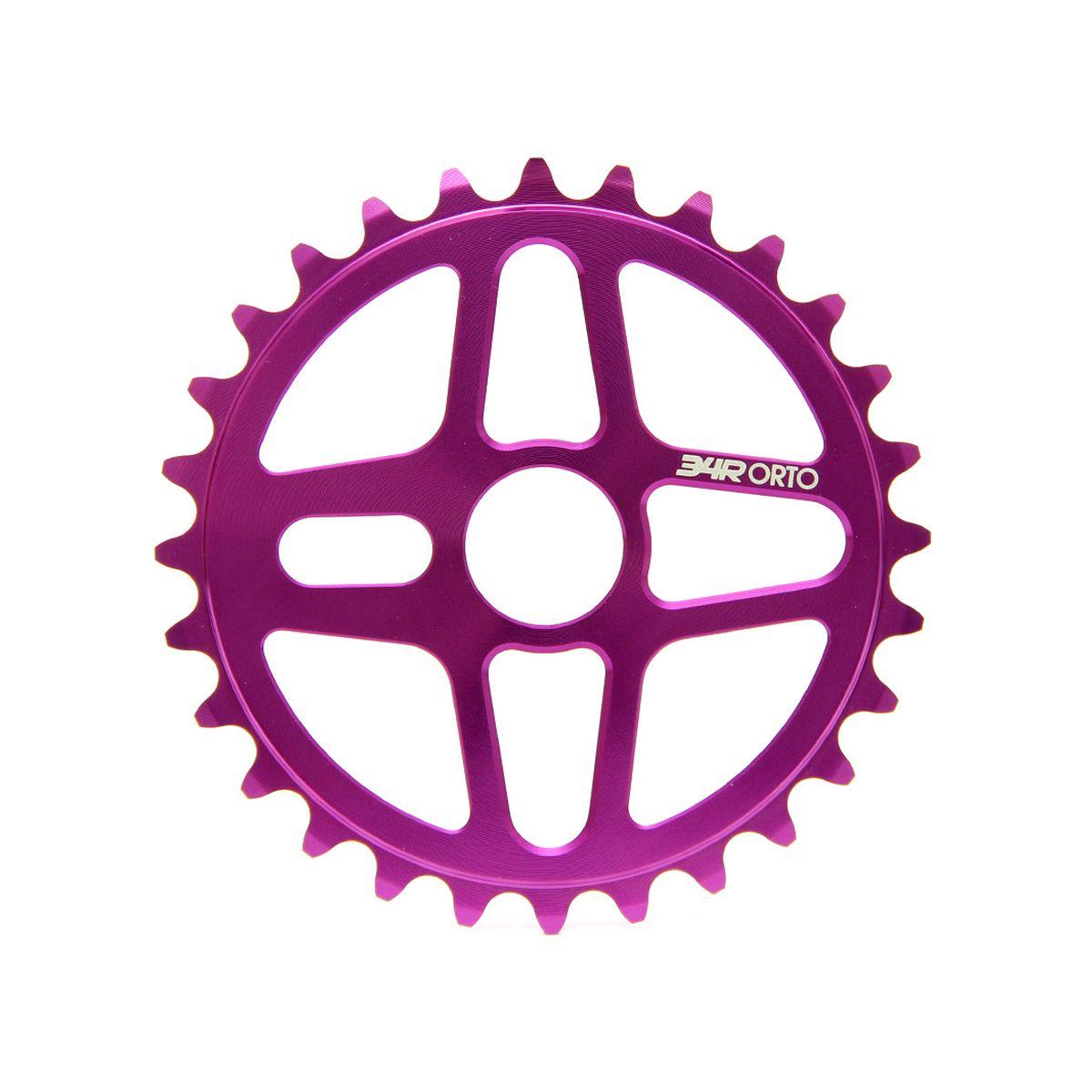 Zębatka 34R Orto Purple