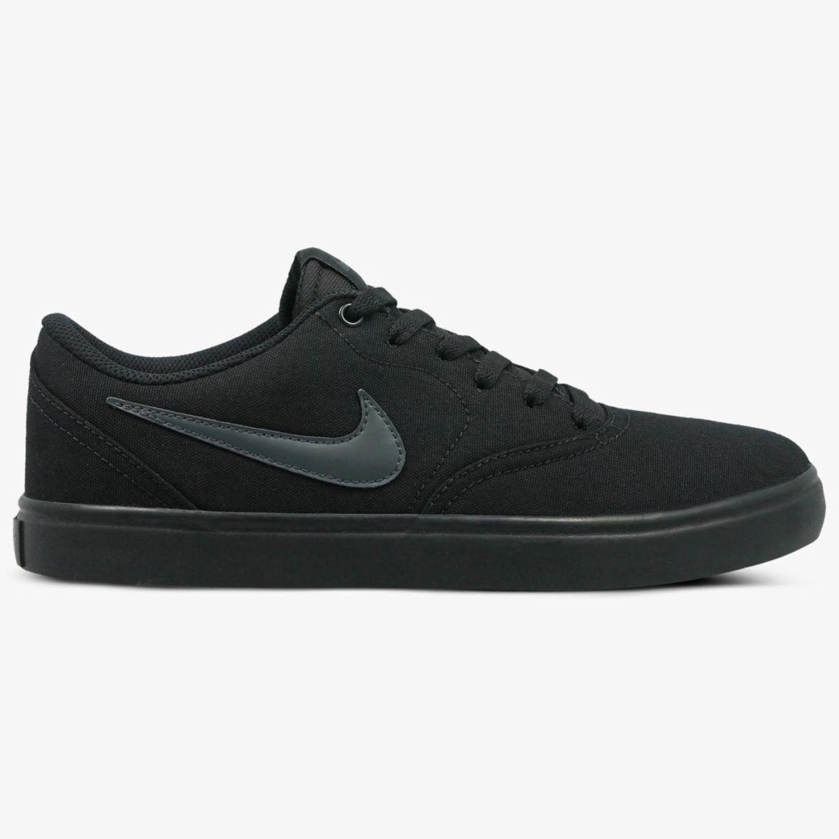 Buty Nike SB Check Solarsoft Black / Black