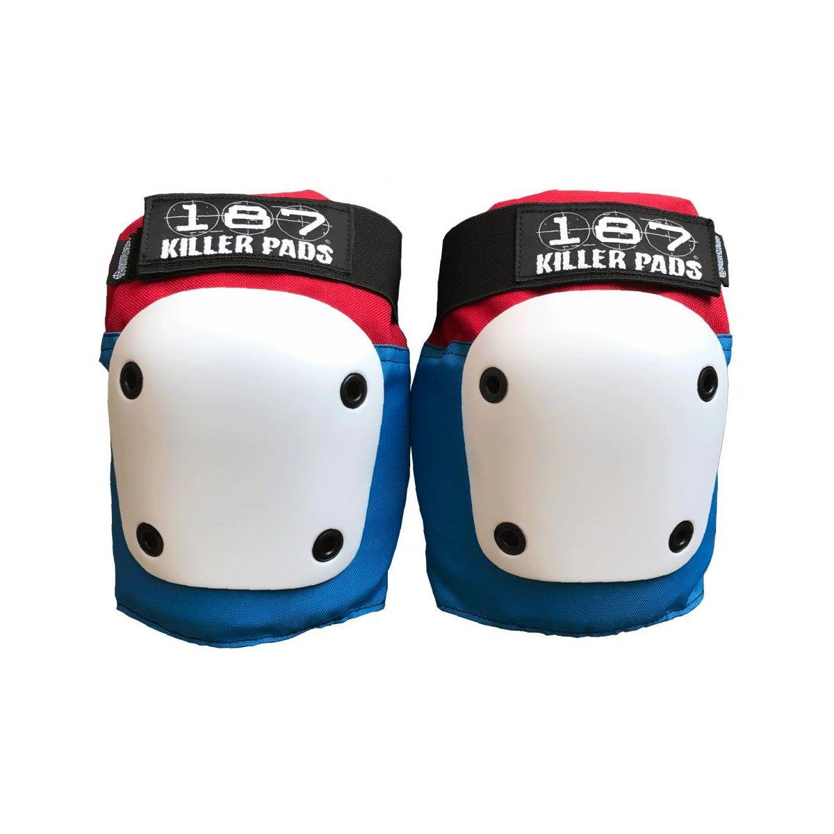 Ochraniacze kolan 187 Killer Pads Fly Red / White / Blue