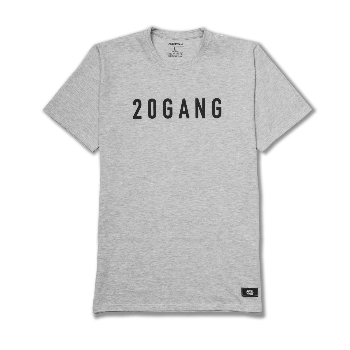 Koszulka Ave Bmx 20GANG Grey