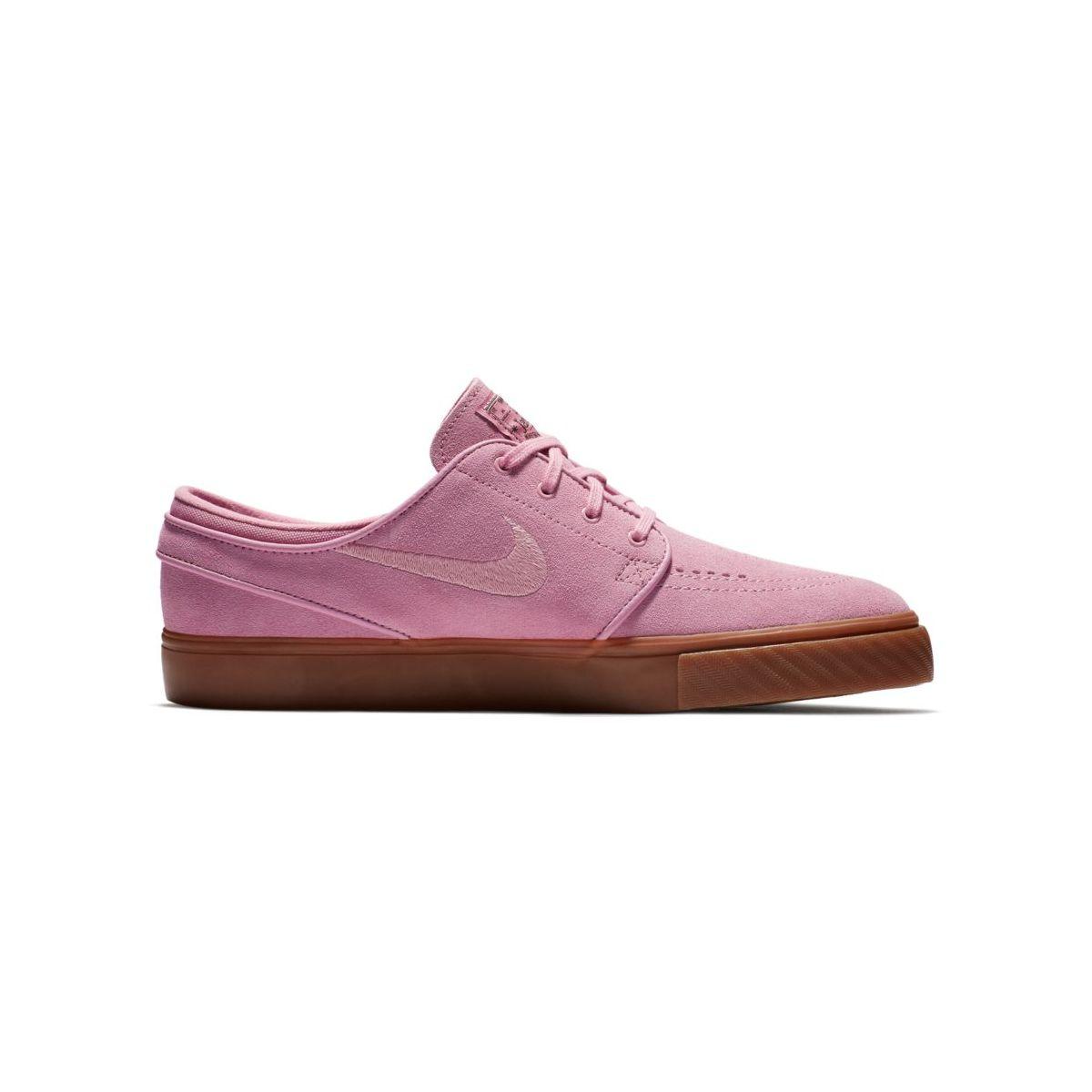 Buty Nike SB Air Zoom Stefan Janoski Elemental Pink / Elemental Pink-Sequoia
