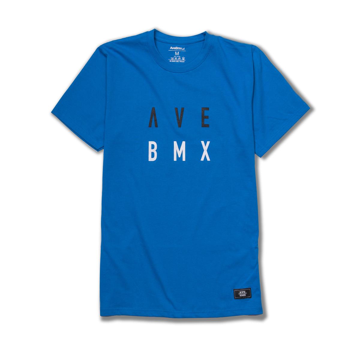 Koszulka Ave Bmx ALIEN Blue