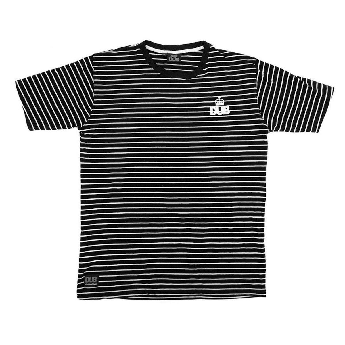 Koszulka DUB Stripe Black