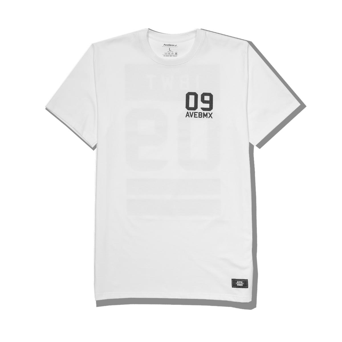 Koszulka Ave Bmx IBWT White