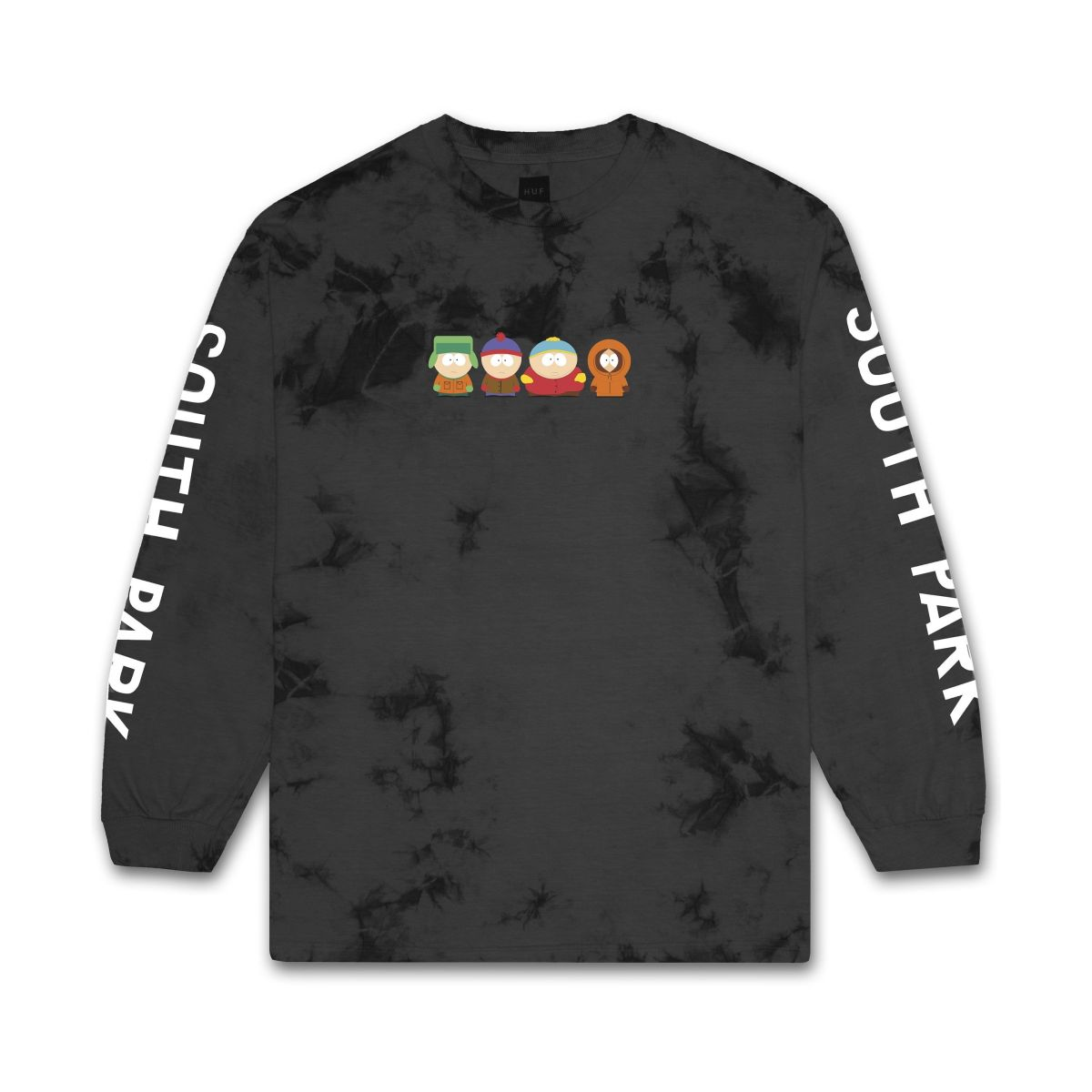 Longsleeve HUF x South Park Kids Crystal Wash Black