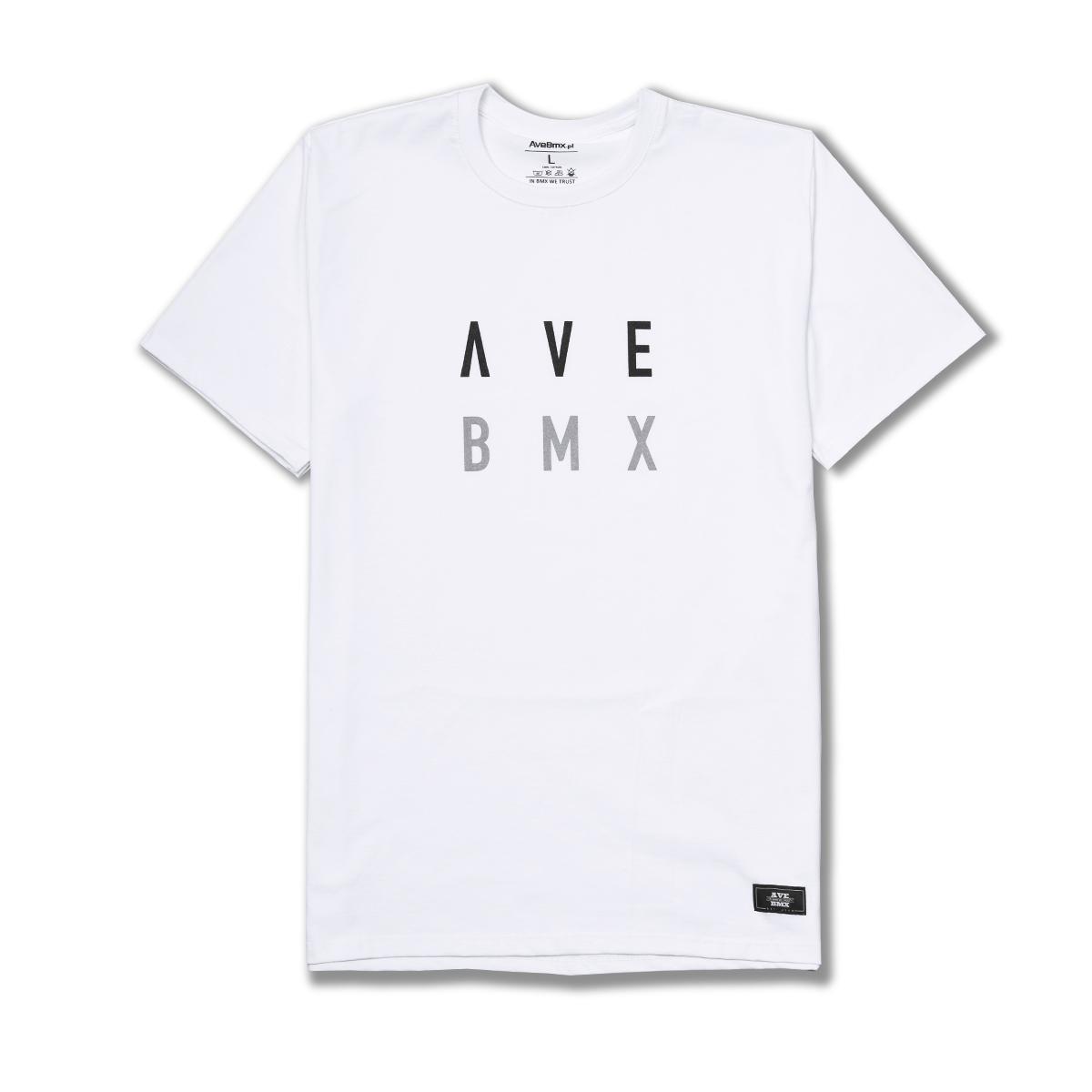 Koszulka Ave Bmx ALIEN White