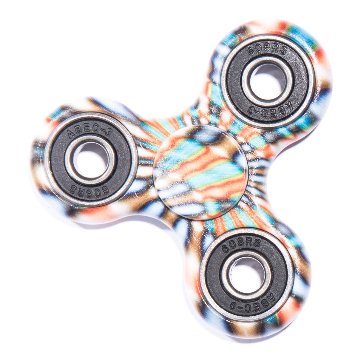 Finger Fidget Spinner Graphic Disco