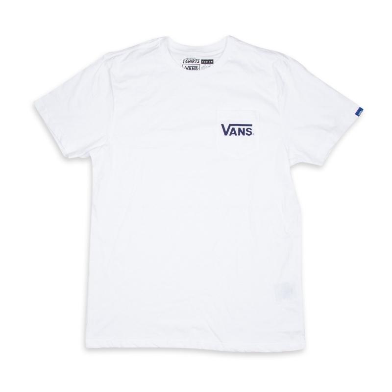 Koszulka Vans Dropped V Pocket White