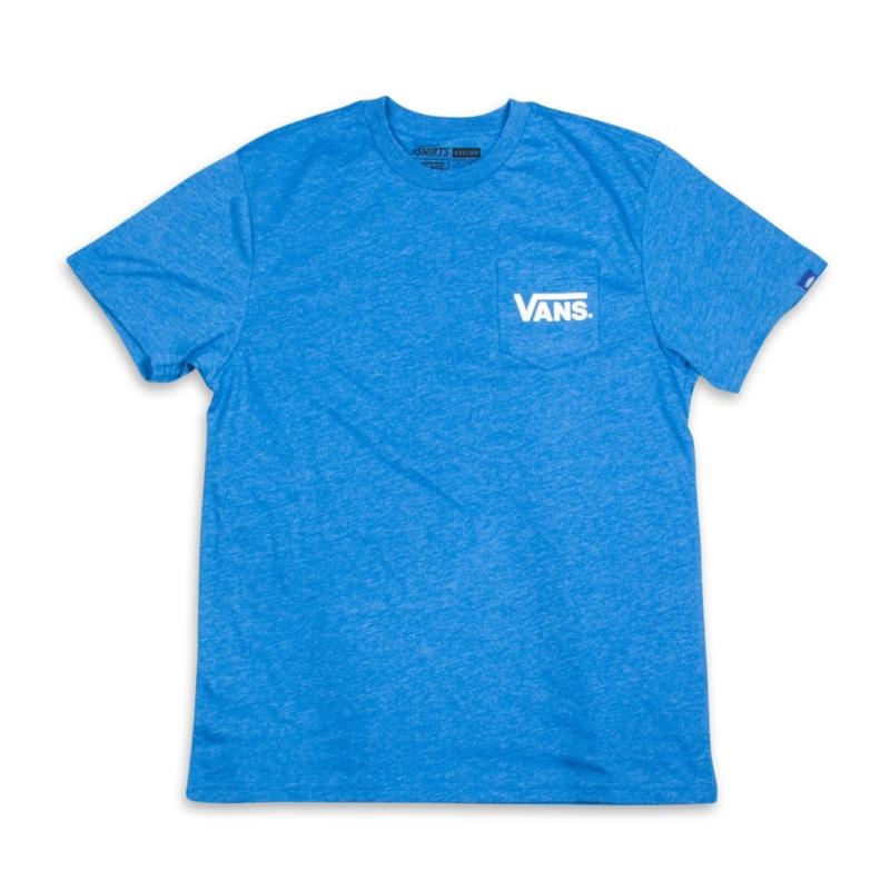 Koszulka Vans Dropped V Pocket Blue
