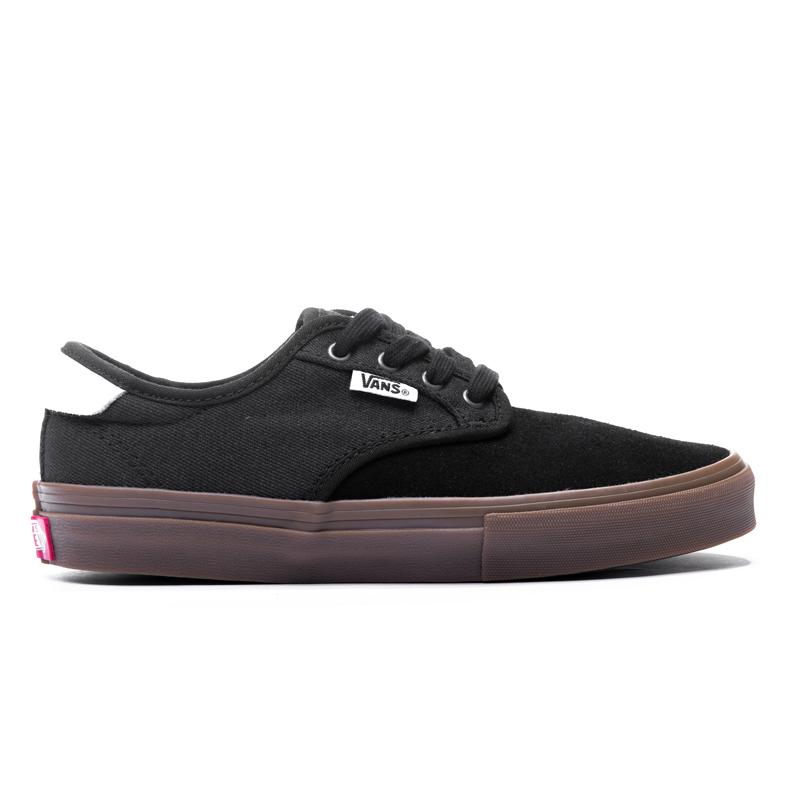 Buty Vans Youth Chima Ferguson Pro (Covert Twill) Black / Gum