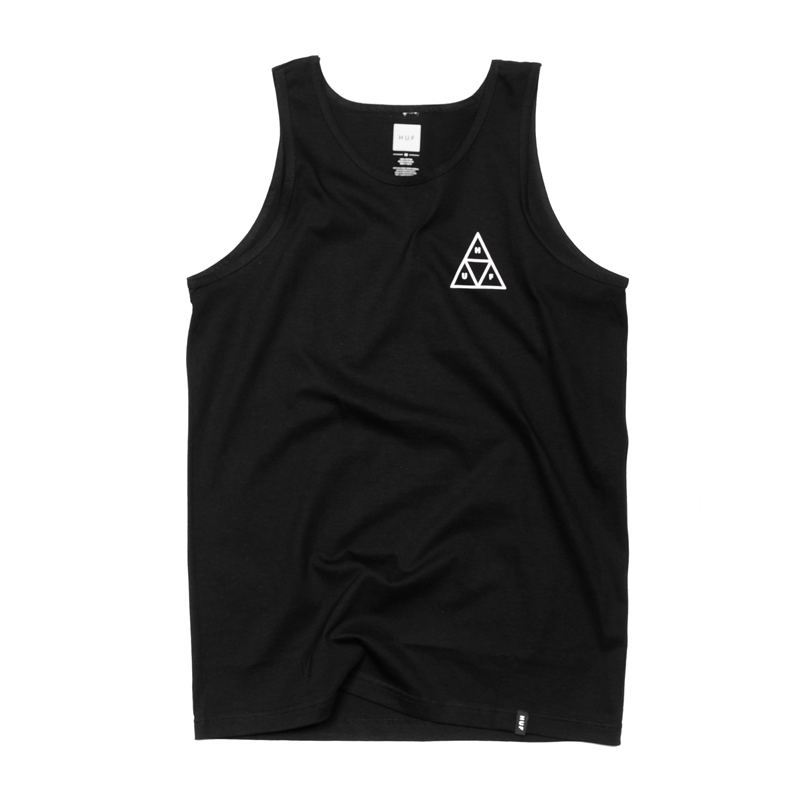 Koszulka HUF Triple Triangle Tank Top Black