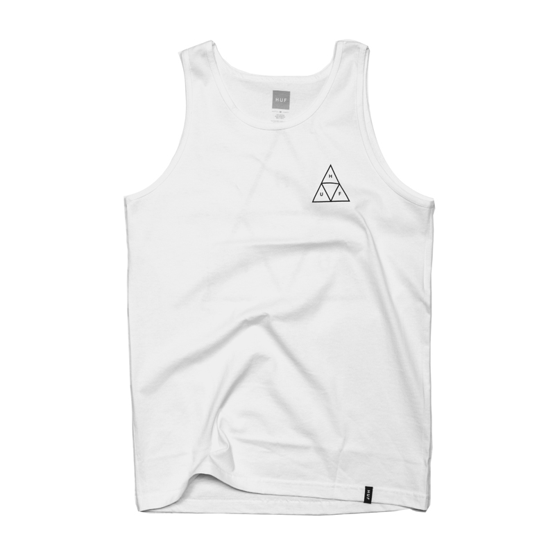 Koszulka HUF Triple Triangle Tank Top White