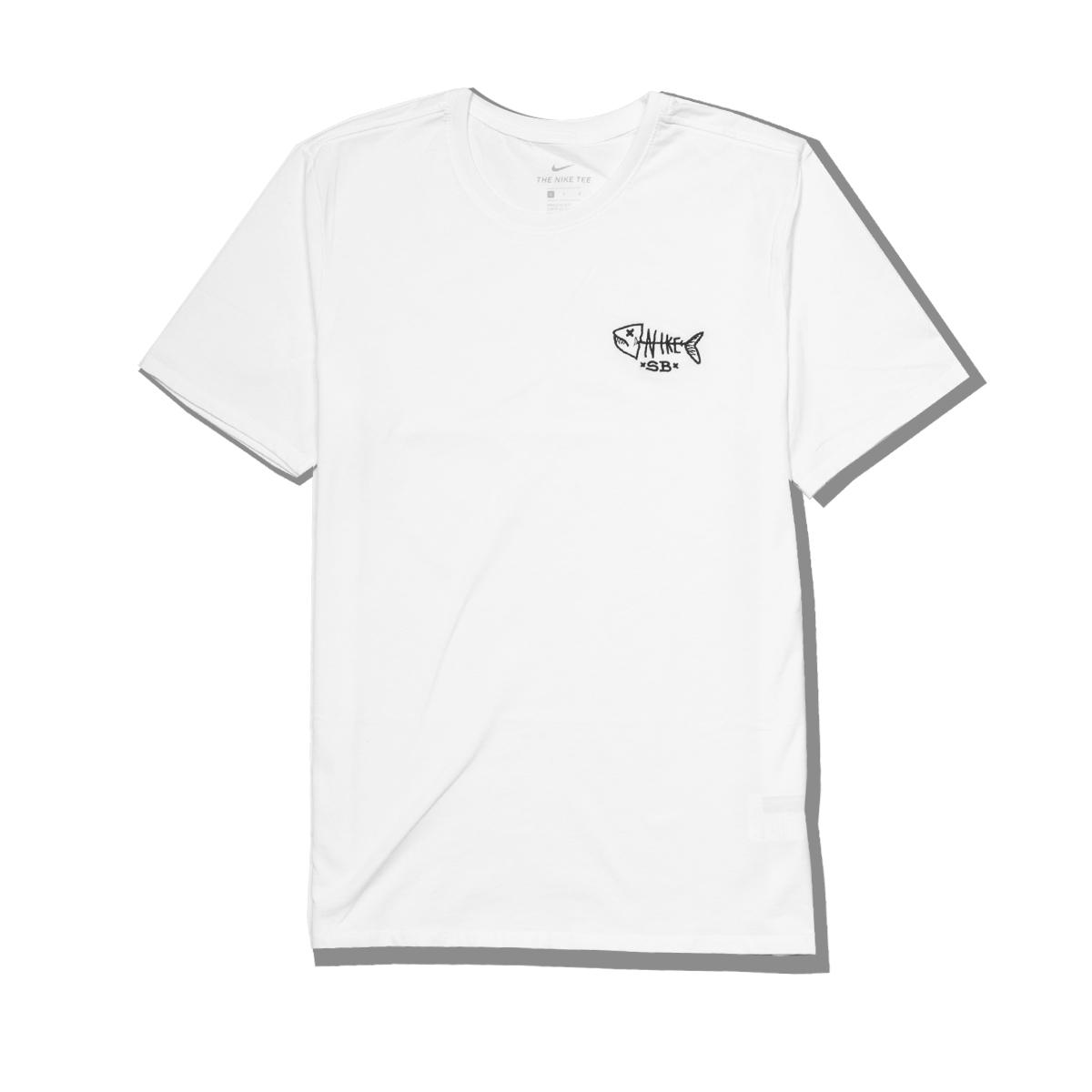 Koszulka Nike SB Dead Fish White