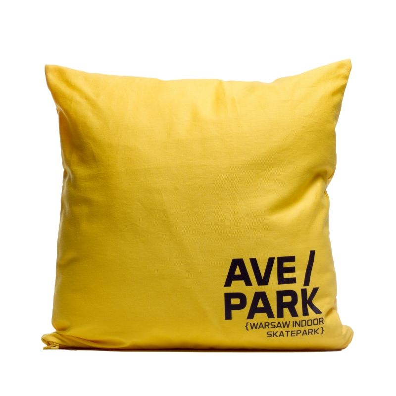 Poduszka AVE/PARK Yellow