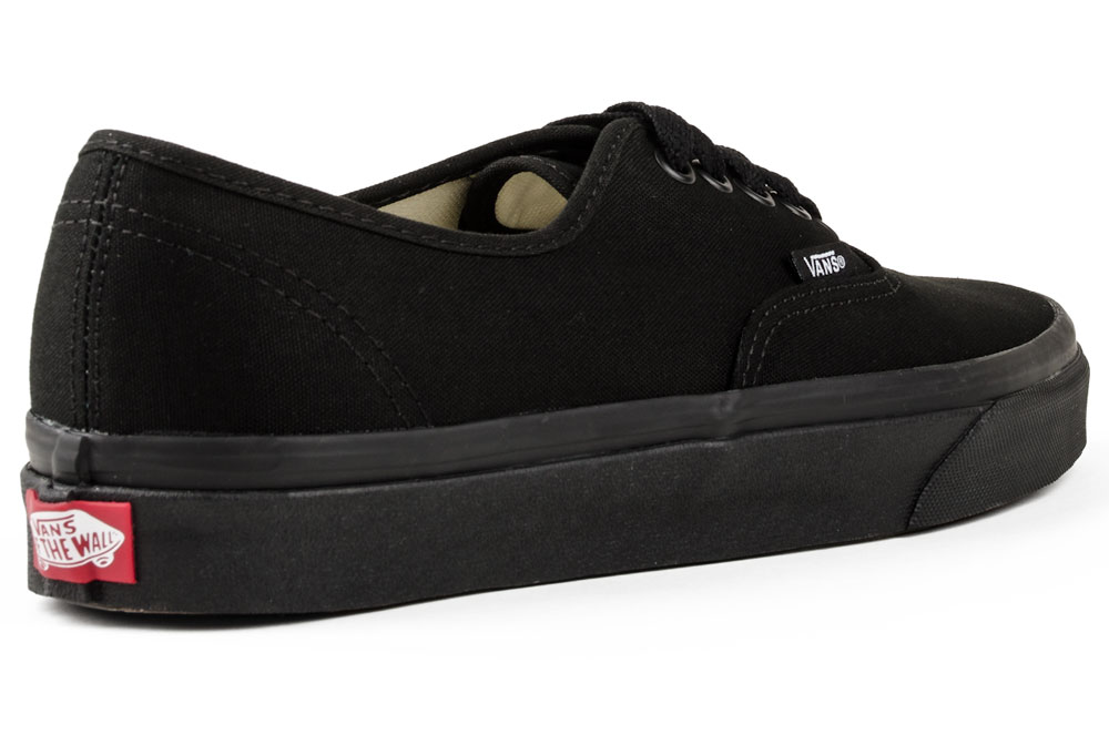 buty vans authentic czarne