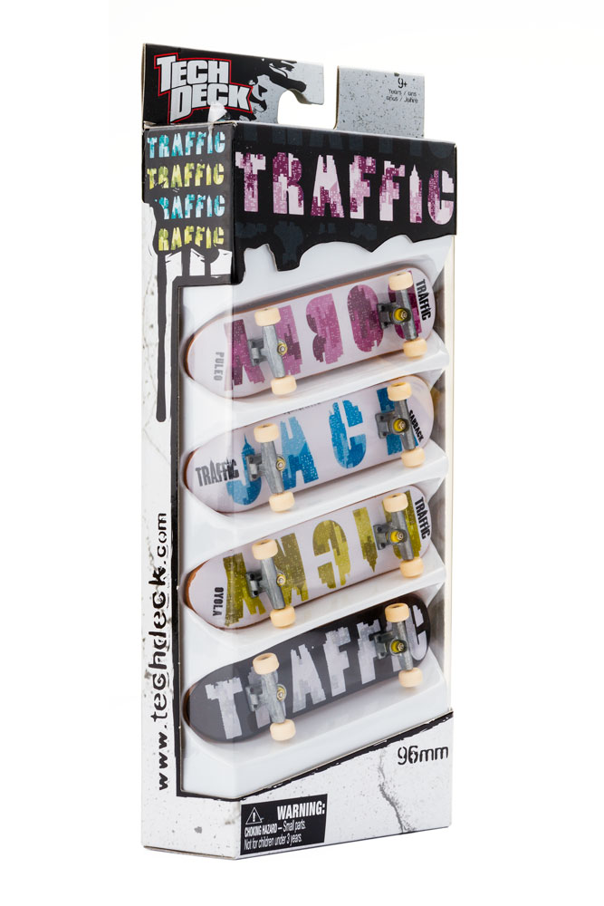 Zestaw 4 Pack Tech Deck Traffic