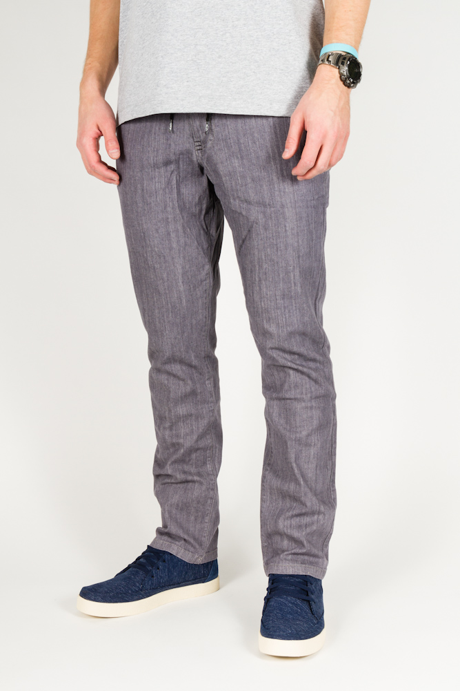 Spodnie Quintin Trucker Denim Grey
