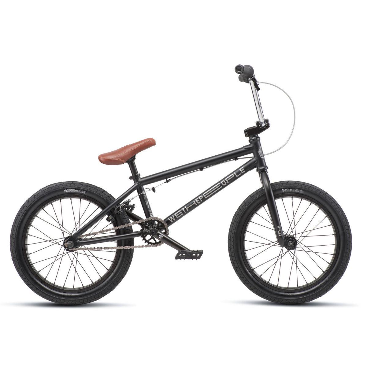 "Rower BMX WTP CRS Matt Black 18"""