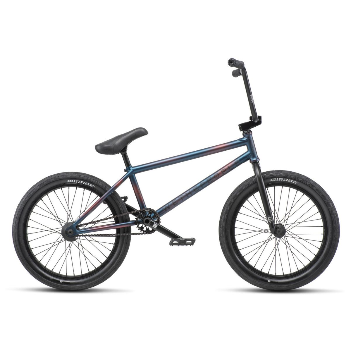 Rower BMX WTP Envy 9 Burnt Metal