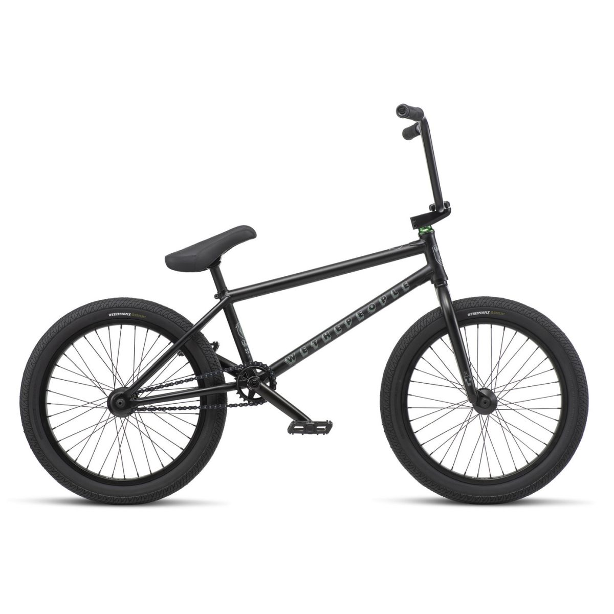 Rower BMX WTP Trust 9 Matt Black Freecoaster