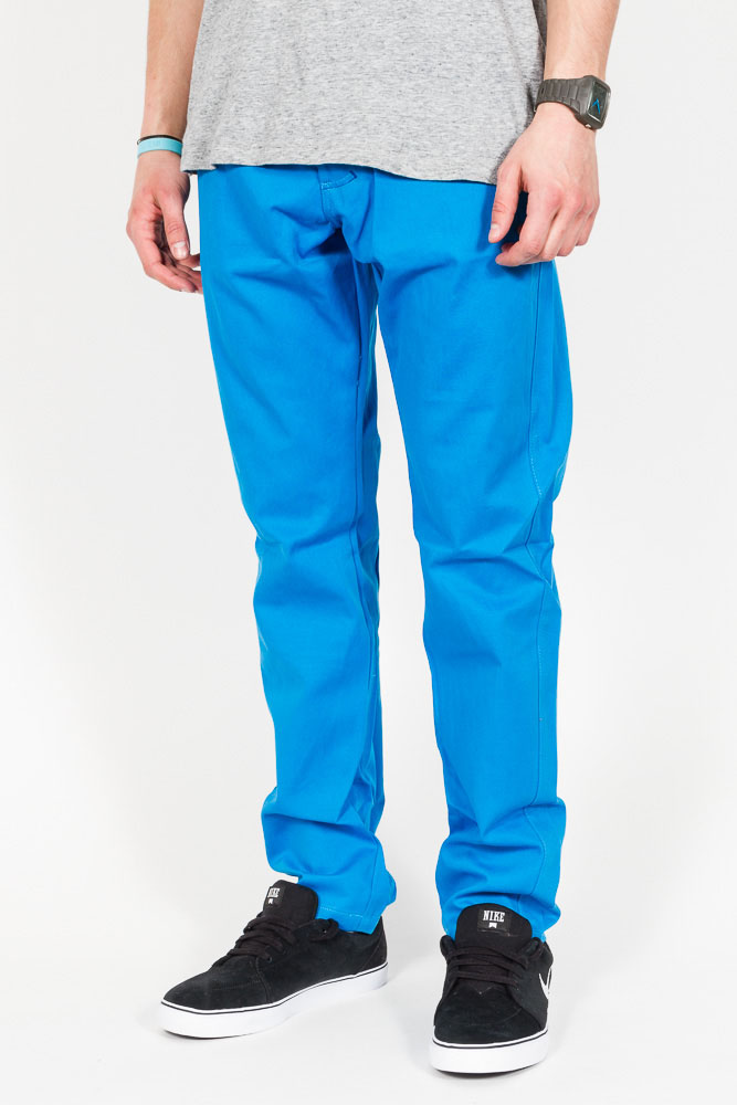 Spodnie Turbokolor Slimfit Chinos Blue
