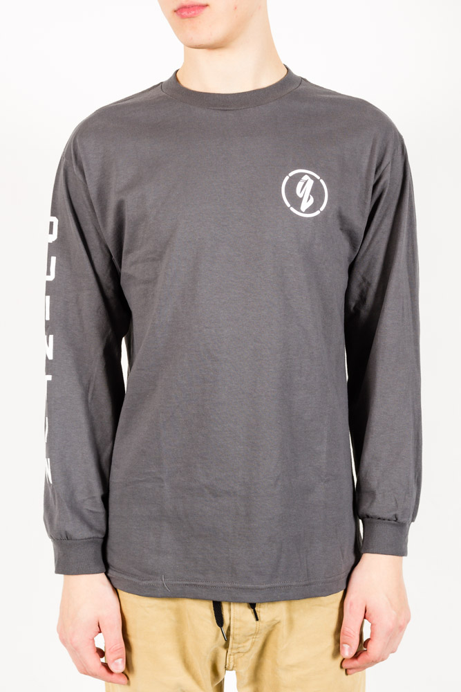 Longsleeve Quintin Sleeved Charcoal