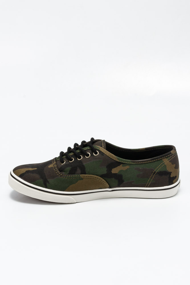 f11f705593e41a Buty Vans Authentic LO PRO (Camo) Military Olive   Marshmallow ...