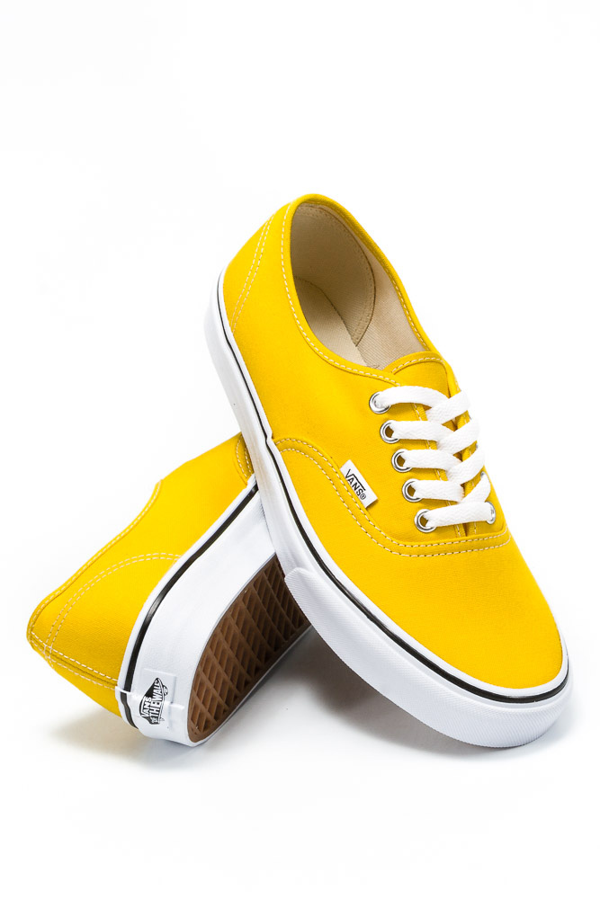 Buty Vans Authentic Cyber Yellow / True White