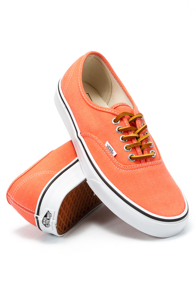 Buty Vans Authentic (Brushed Twill) Fresh Salmon