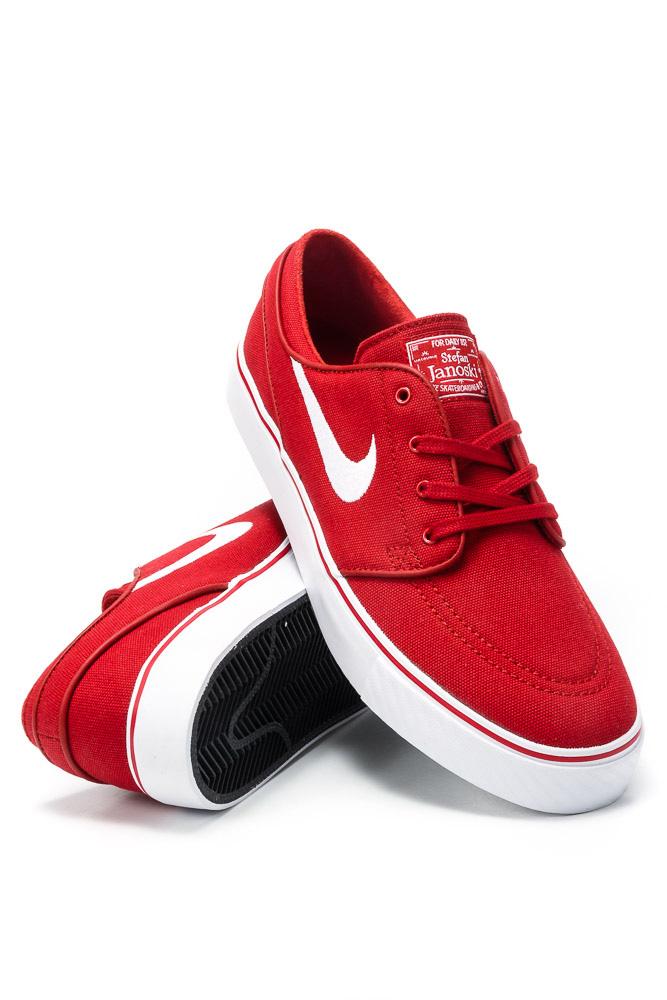 cała kolekcja najniższa zniżka wyprzedaż resztek magazynowych Buty Nike SB Zoom Stefan Janoski CNVS Varsity Red / White