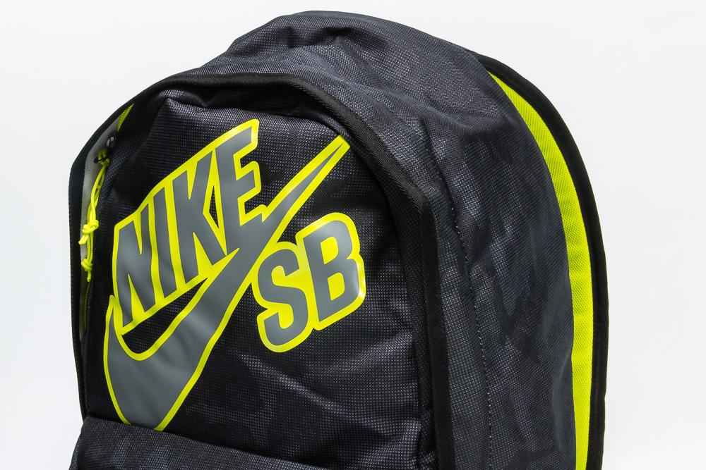 a2d09cec77080 Plecak Nike SB Piedmont Black / Venom Green / Medium Base Grey ...