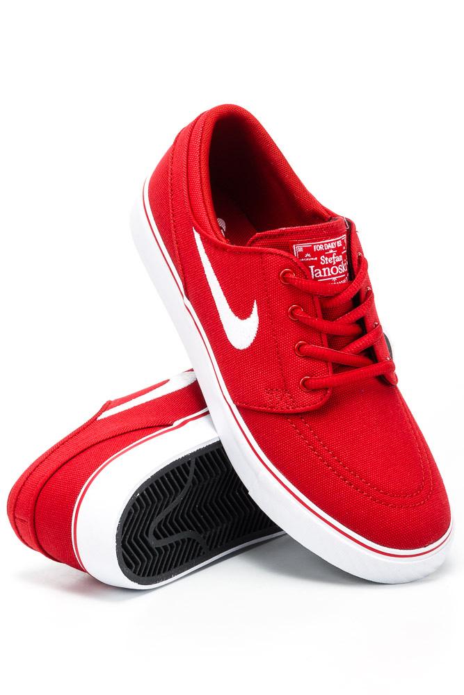 Cena hurtowa pierwsza stawka klasyczny Buty Nike Zoom Stefan Janoski CNVS (GS) Varsity Red / White