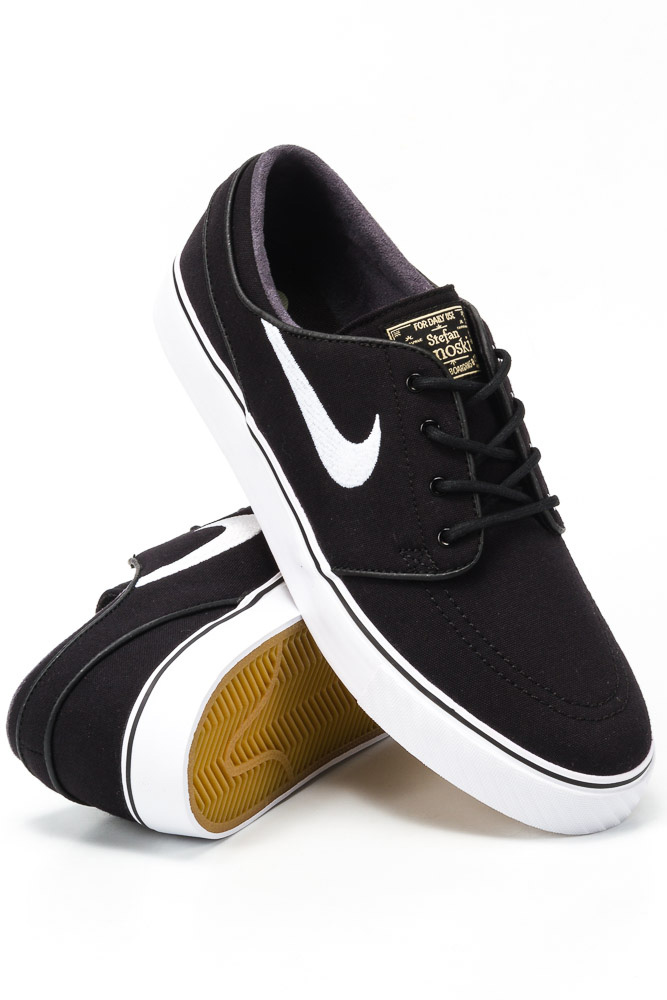 Buty Nike SB Zoom Stefan Janoski Canvas Black / White