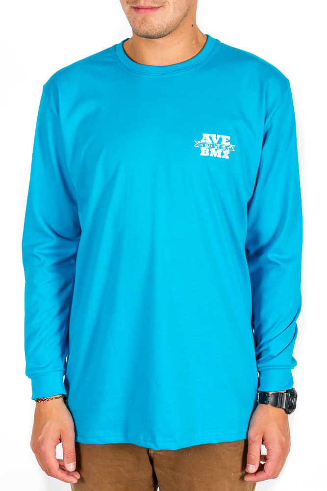 Longsleeve Ave Bmx Shield Blue