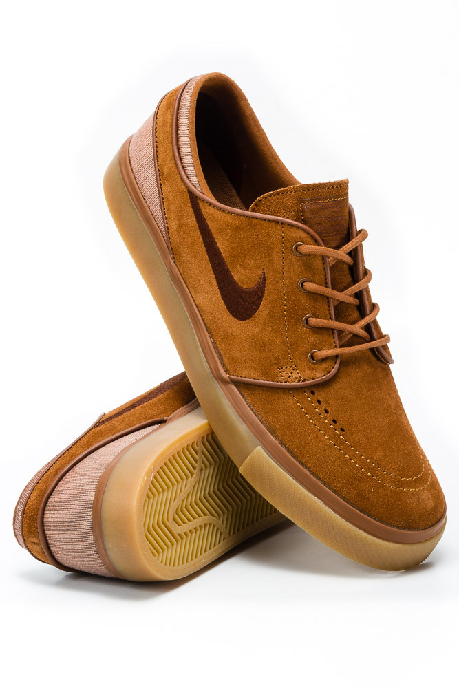 6c5e453d Buty Nike SB Zoom Stefan Janoski Light British Tan / Dark Field Brown