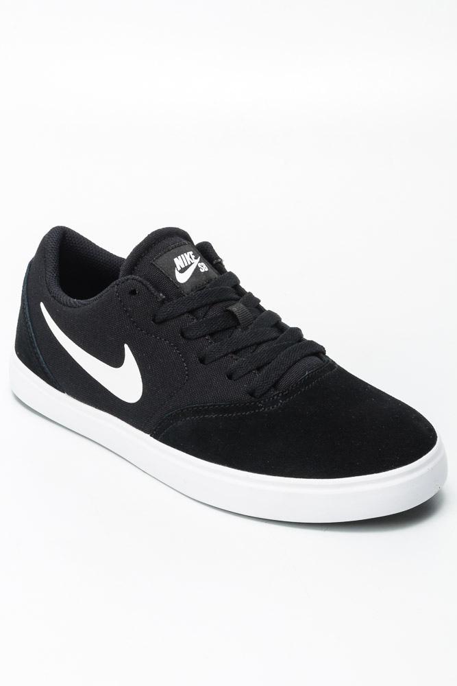d365d24a4a Buty Nike SB Check (GS) Black   White   Sklep AveBmx - rowery ...