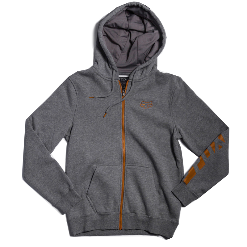 Bluza Fox Tracker Zip Front Hoody Grey