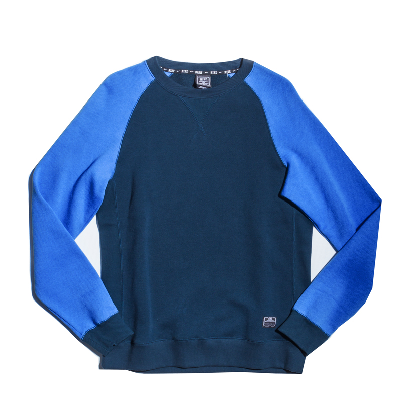 Bluza Nike Foundation Crew Armory Navy / Distance Blue