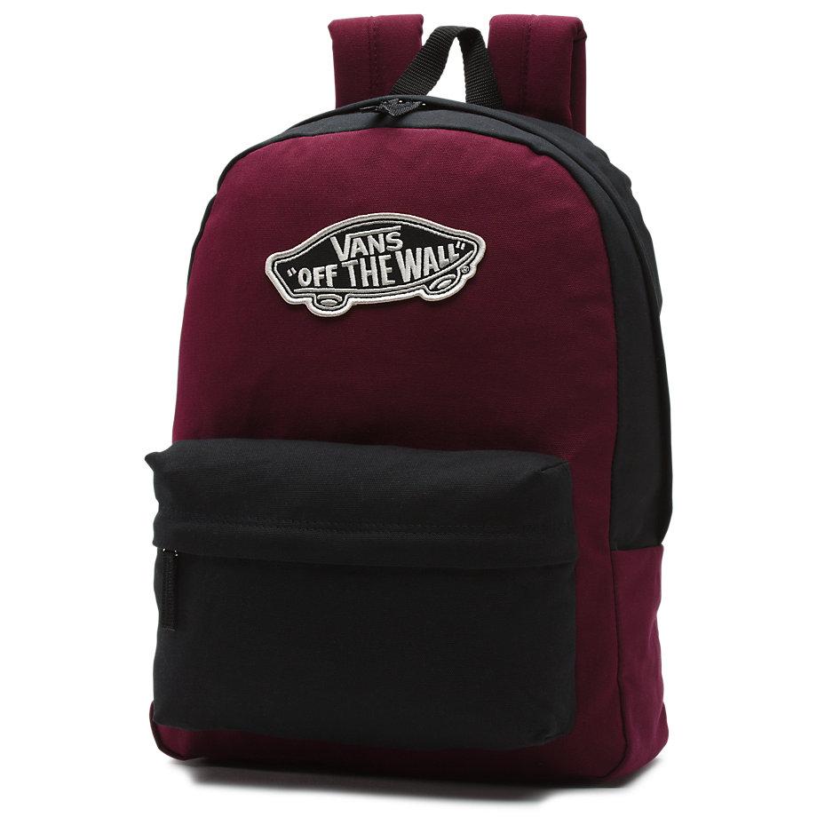 super tanie popularna marka w magazynie Plecak Vans Realm Black / Port Royal