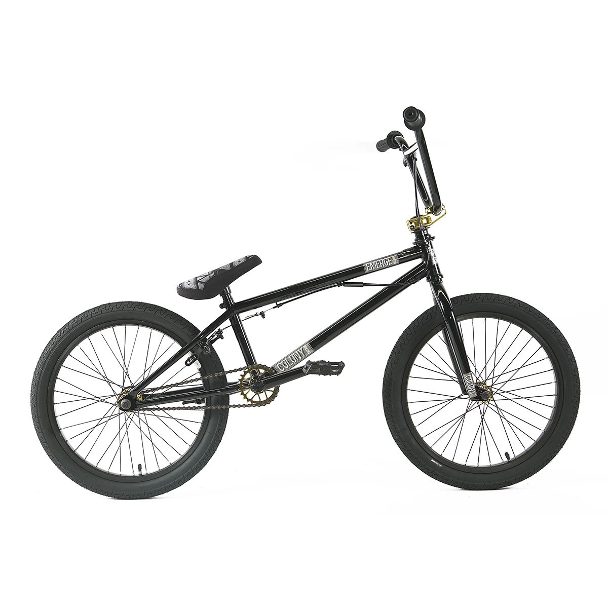 Rower BMX Colony Emerge 9 Gloss Black / Gold