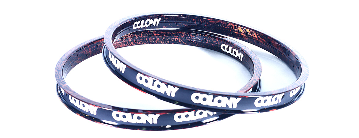 Obręcz Colony Contour Fire Storm Limited Edition